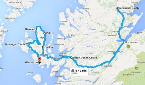 Ruta isla de Skye