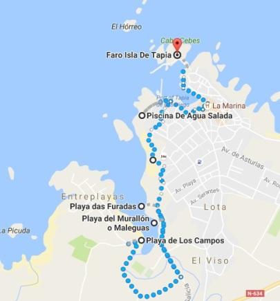 Mapa Tapia