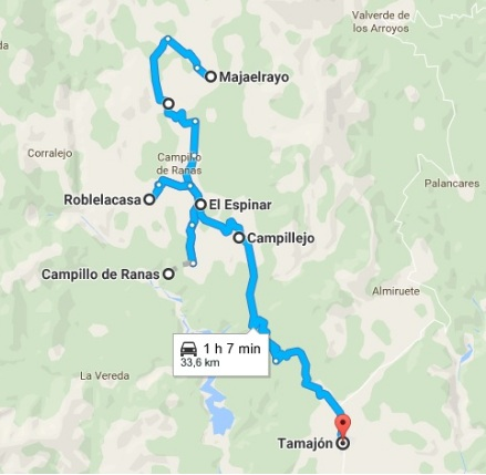 ruta-itinerario-i