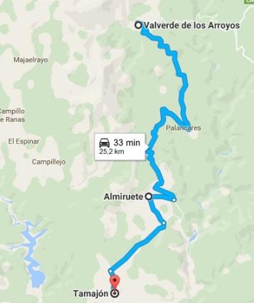 ruta-itinerario-ii