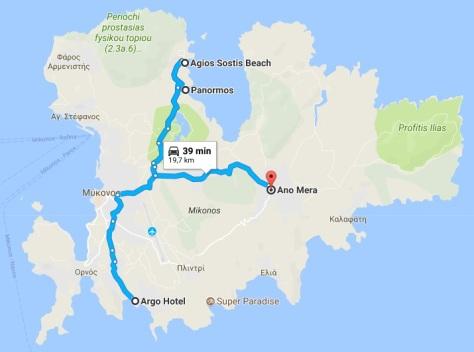 Ruta a Panormos