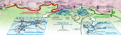 Mapa buses Gran Cañón2