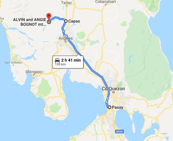 Hacia Pinatubo