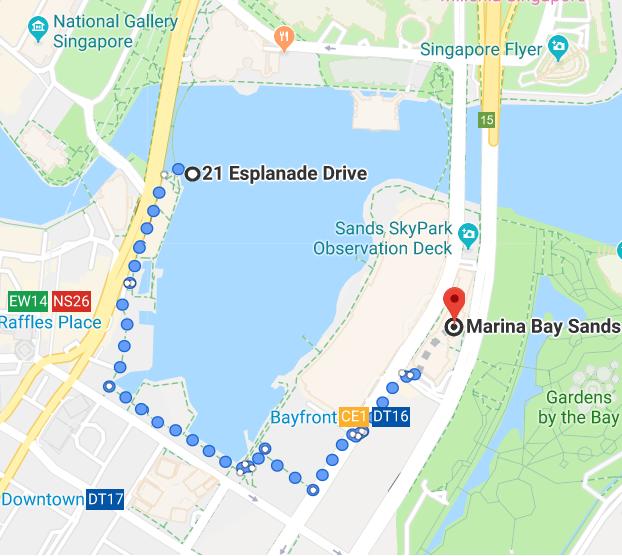 Ver espectáculo Marina Bay